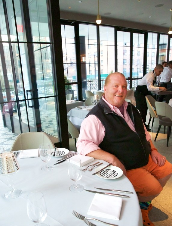 Your First Look At La Sirena, Mario Batali's New Restaurant At The Maritime Hotel