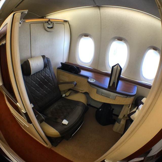 Inside The Most Luxurious First Class Flights In World