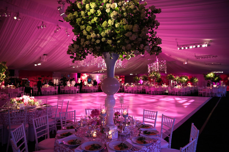 Inside The New York Botanical Gardenu0027s Conservatory Ball Presented By Oscar  De La Renta
