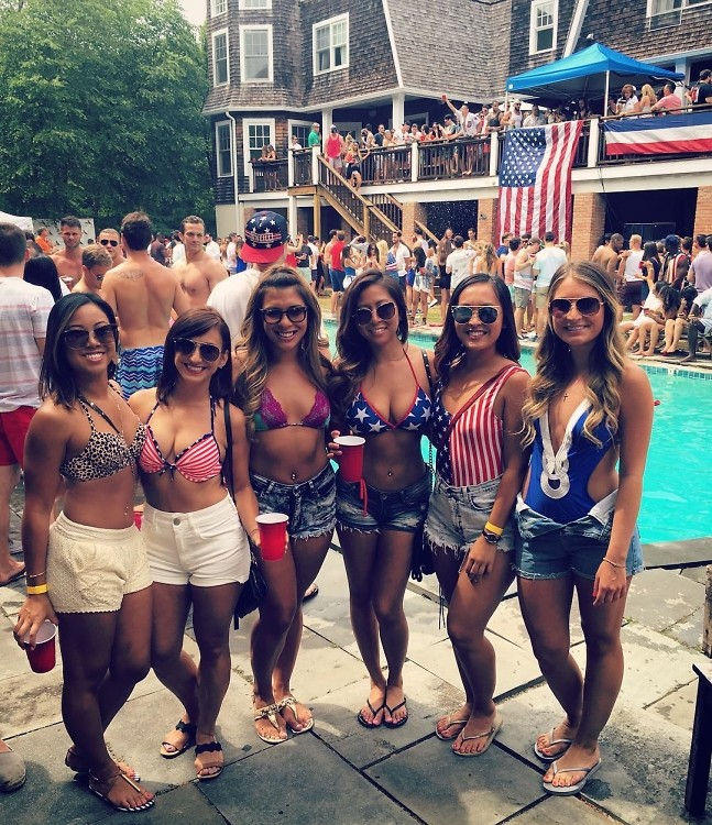 #Sprayathon: Wall Street Bro's Wild Hamptons Party Trashed