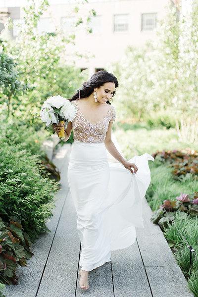 Wedding Inspiration: Chic Brides Hit The High Line