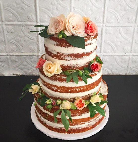 Naked Wedding Cakes The Unexpected Trend Brides Love - Godfather Wedding Cake