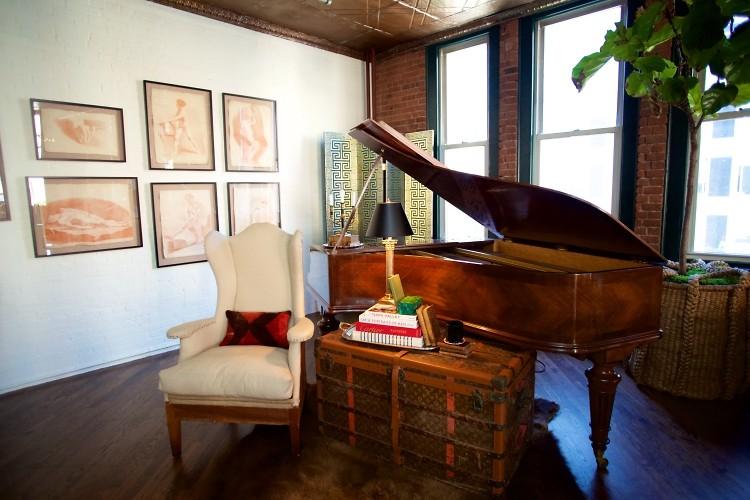 Inside Ken Fulk's Gentleman's Club Of A Tribeca Loft