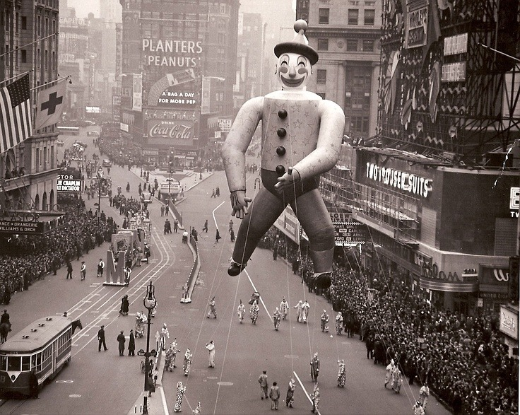 The Macys Thanksgiving Day Parade Through Ages