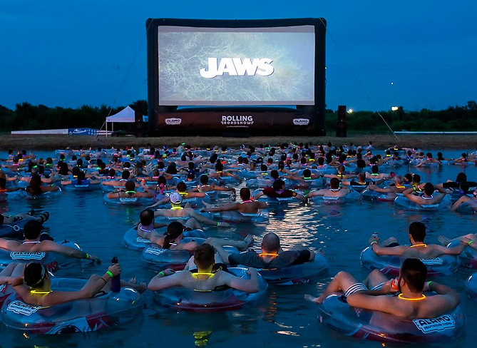 Floating Screenings Of Jaws Take Terror To A New Level