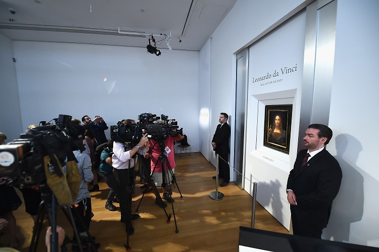 Leonardo da Vinci's Salvator Mundi to be offered at Christie's NY