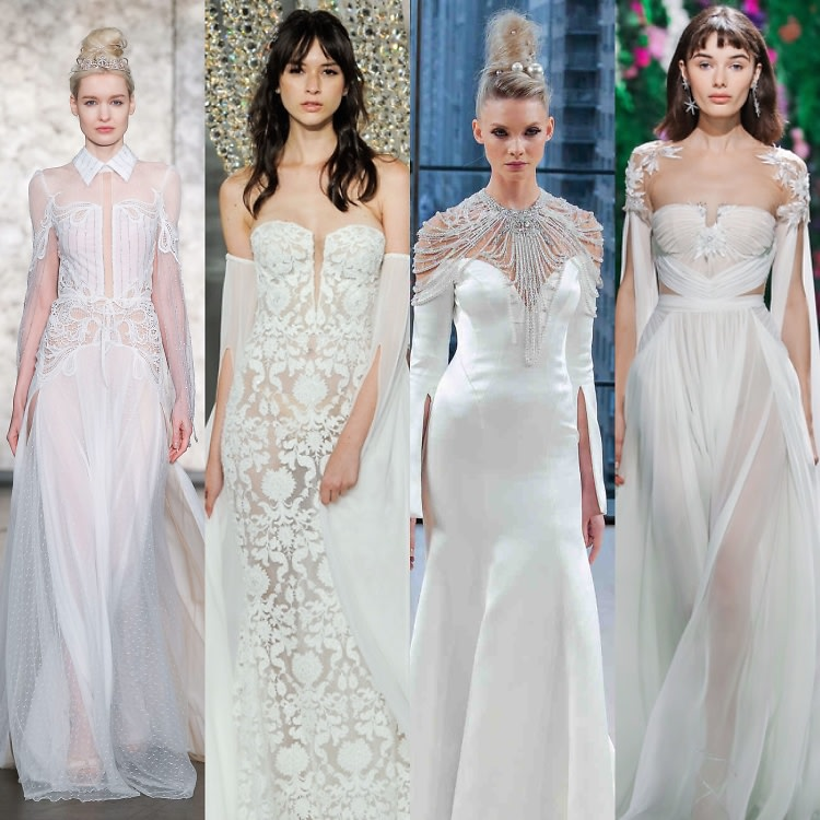5 Unexpected Wedding Dress Trends For 2018