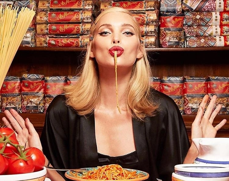 Image result for dolce and gabbana pasta