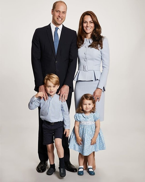 Fans point out massive error on Will and Kate's Christmas card