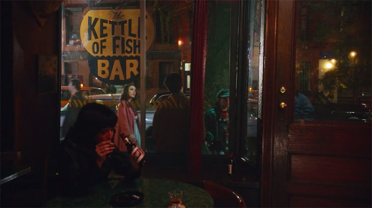 The marvelous mrs maisel guide to new york for Fish bar nyc