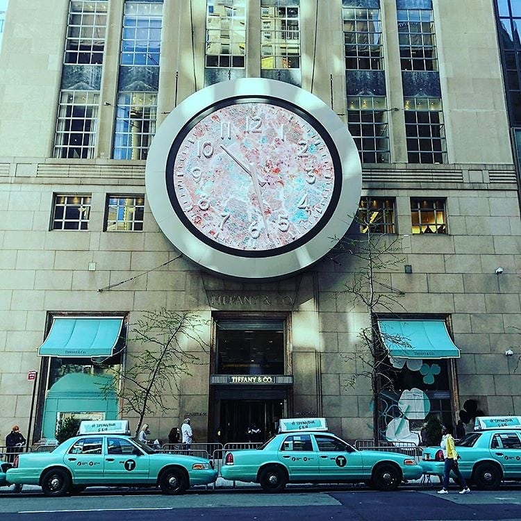 A tiffany co bodega their iconic blue has taken over nyc mightylinksfo