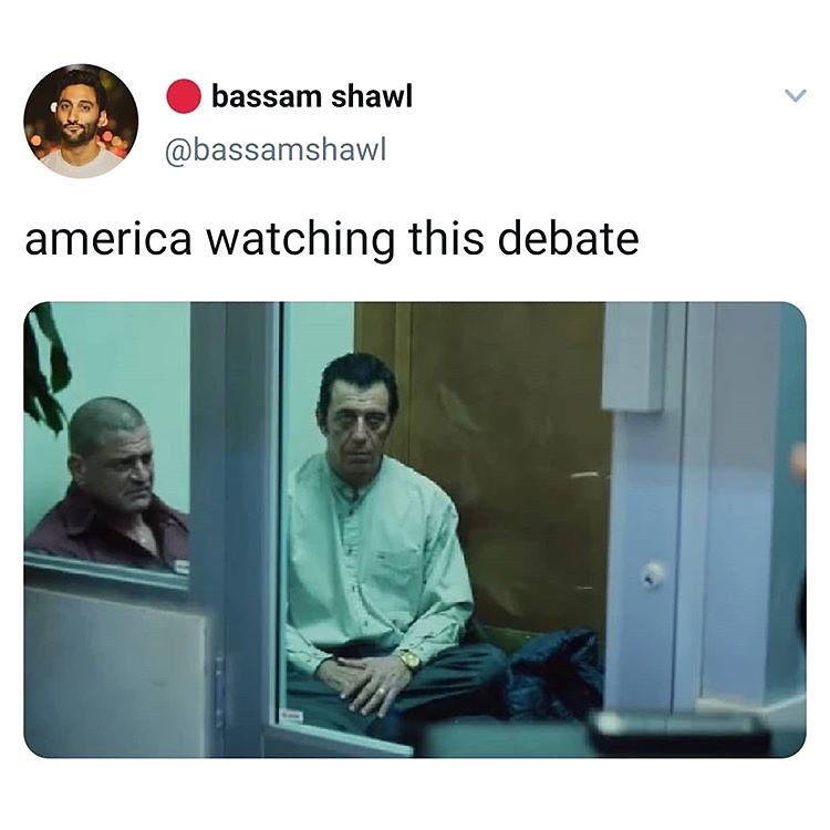 The Funniest Memes About Last Night S Debate So You Can Laugh Through Your Tears