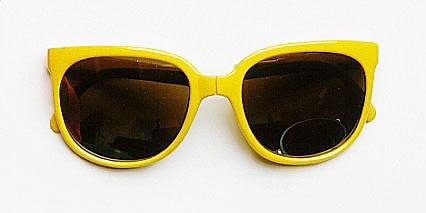 Corey Worthington Yellow Sunglasses