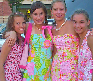 lily pulitzer fans tend to travel in packs