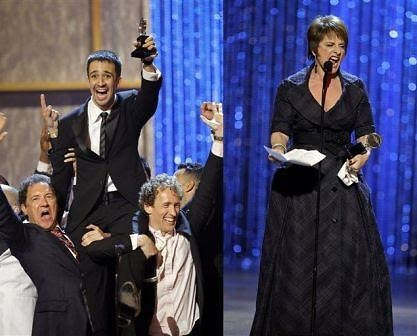 Patti LuPone and In the Heights win big