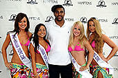 david tyree with hawaiian tropic girls