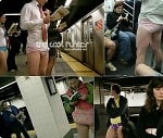 NYC No Pants Subway Ride