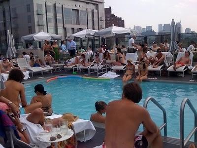 Soho House Rooftop Pool