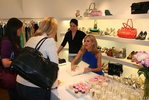 Emily Giffin Book Signing At Intermix