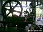vintage wheel in earnest sewn