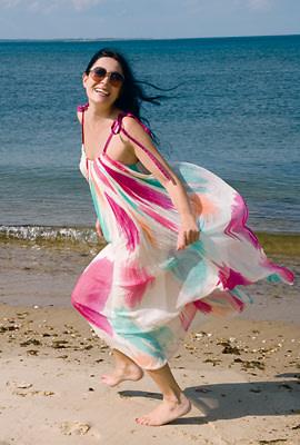 Catherine Malandrino in the Hamptons