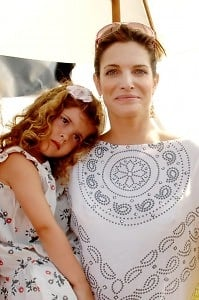 Lily Brant and Stephanie Seymour