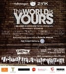 The World Is Yours Invitation