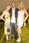 Lydia Hearst, Eric Richman, and Kirsten Beneke