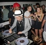 samantha Ronson with lindsay lohan at lilypond