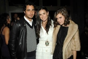 zac posen, Demi moore, Rumor willis