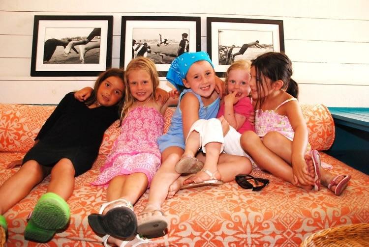 kids at surf lodge