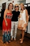 Jackie Harris Hochberg, Nicki Harris, and Louise Camuto