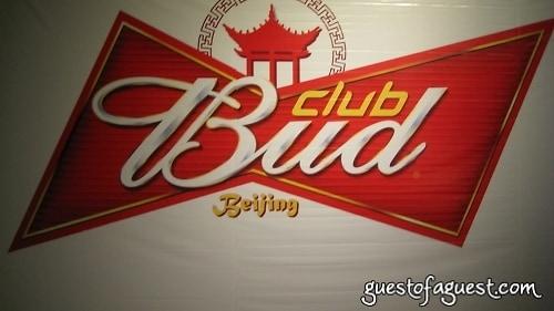 Bud Club. Beijing