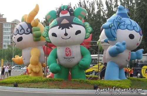 Fuwa, mascots, Beijing Olympics