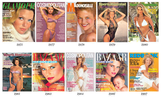 christie brinkley covers