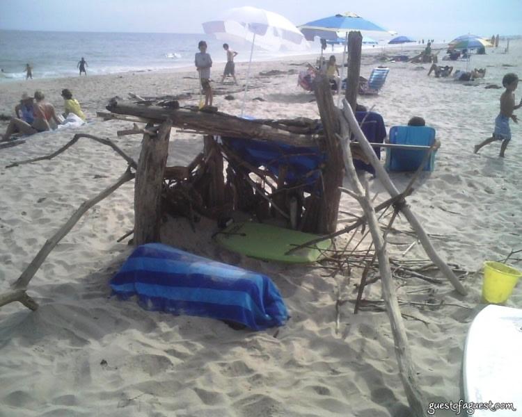 fort on amagansett beach