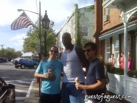 shaq in sag harbor