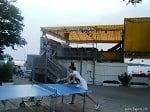 sunset beach ping pong