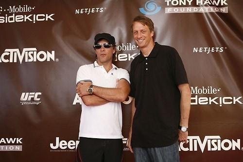 Jon Bon Jovi and Tony Hawk