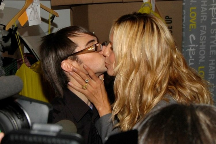 Christian Siriano and heidi Klum