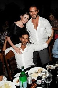 Anne Hathaway, Marc Jacobs, Lorenzo Martone