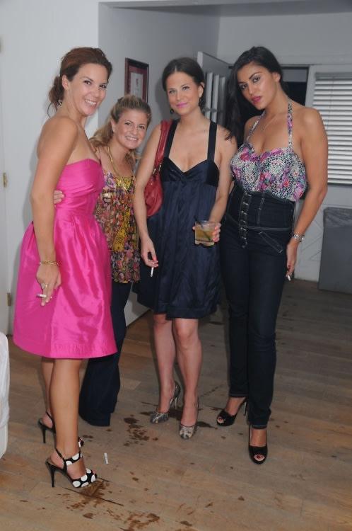 girls at pink