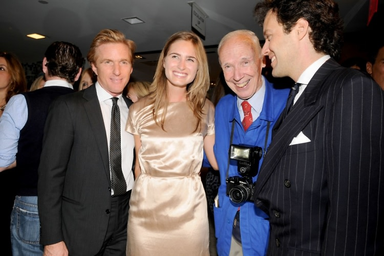 Charles Fagan, Lauren Bush, Bill Cunnigham, David Lauren