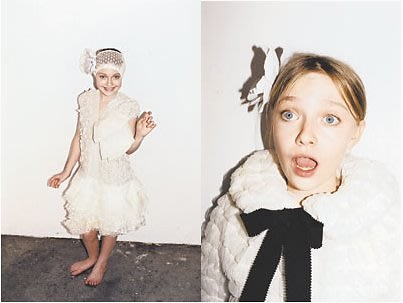 dakota fanning in marc jacobs ad