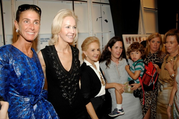 Somers Farkas, Joanne di Guardiola, Carolina Herrera, Patricia Lansing