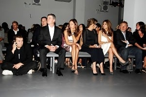 Front Row, Stephane Fugier, Tom Murry, Kelly Klein, Lauren Hutton, Eva Mendes, Fabien Baron