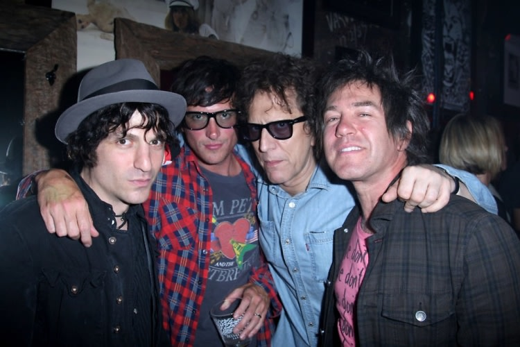 Jesse Malin, Butch Walker, Mick Rock, Danny Sage