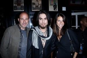 John Varvatos, Dave Navarro, Joyce Varvatos