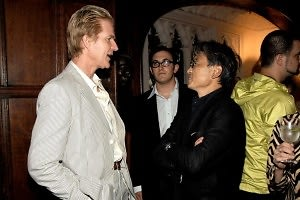 Matthew Modine, Nick Raynes, David Chu