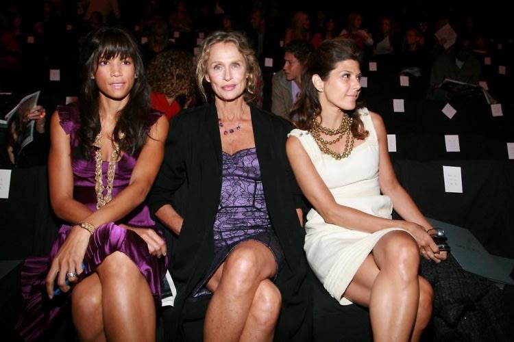 Veronica Webb, Lauren Hutton, Marisa Tomei